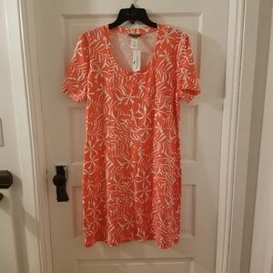 B2G1! NWT Tommy Bahama orange Tshirt dress